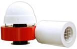 08549379 Wentylator promieniowy dachowy z wylotem poziomym WPA-5-D-3-N 400V (obroty synchroniczne: 3000 1/min, moc: 0,55 kW, wydajność wentylatora: 1900 m3/h)