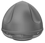 08549442 Wentylator przeciwwybuchowy dachowy SPARK-S-200/1500/Ex (obroty synchroniczne: 1500 1/min, moc: 0,55 kW, wydajność wentylatora: 1870 m3/h)