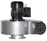 08549474 Wentylator przeciwwybuchowy promieniowy stanowiskowy WP-7-E/Ex (obroty synchroniczne: 3000 1/min, moc: 1,1 kW, wydajność wentylatora: 2200 m3/h)