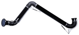 08549535 Odciąg stanowiskowy, ramię odciągowe ze ssawką z lampką halogenową i transformatorem, wersja stojąca ERGO-LL/Z-2-R (średnica: 160 mm, długość: 2 m)