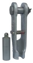 33948529 Złącze klinowe zakuwane SCS 25 (udźwig: 5 T, średnica liny: 13-16 mm)