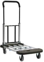 39955488 Wózek platformowy, aluminiowy (udźwig: 150 kg)