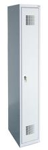 99551966 Szafka ubraniowa 0,8mm, 1 drzwi, zamek cylindryczny zamykany w 1 punkcie (wymiary: 1800x400x500 mm)