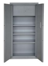 99552588 Szafa - wzmocniona, 3 półki, 1 skarbczyk, 2 drzwi (wymiary: 1800x1000x450 mm)