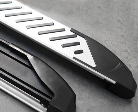 01656319 Stopnie boczne, paski - Land Rover Range Rover Sport 2005-2013 (długość: 182 cm)