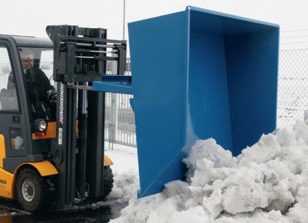 99724703 Pojemnik do śniegu i piasku GermanTech SK 2 (pojemność: 1500 L)