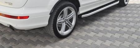 DOSTAWA GRATIS! 01655676 Stopnie boczne - Audi Q7 2015+ (długość: 205-210 cm)