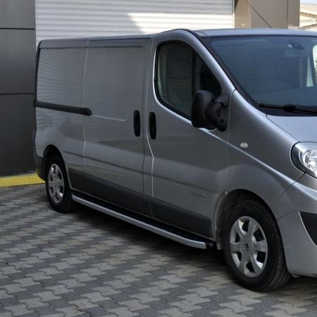 DOSTAWA GRATIS! 01655752 Stopnie boczne - Opel Vivaro 2001-2014 short (długość: 230 cm)