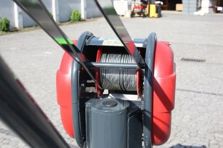 DOSTAWA GRATIS! 08115161 Wciągarka elektryczna linowa budowlana + lina 30m + sterowanie ręczne 1,5m (udźwig: 325 kg)