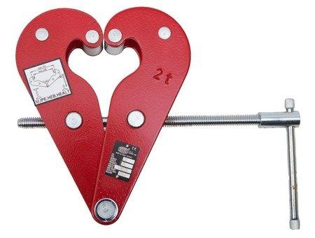 DOSTAWA GRATIS! 2203131 Zawiesie klamrowe z okiem ZZ/10.0t (max szerokość belki: 300mm, udźwig: 10 T)
