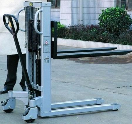 DOSTAWA GRATIS! 310502 Wózek podnośnikowy ręczny (maszt pojedyńczy, udźwig: 1000 kg)
