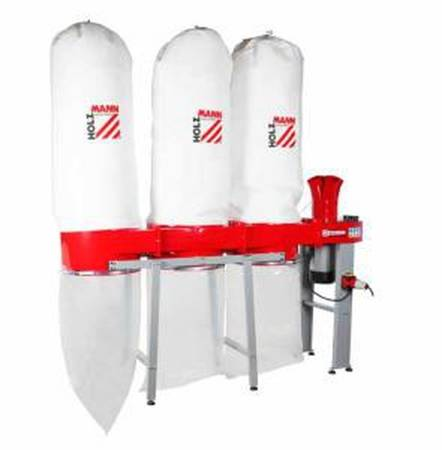 DOSTAWA GRATIS! 44349896 Odciąg do trocin Holzmann 400V (wydajność: 4560 m3/h, moc: 3,7/5,6 kW)