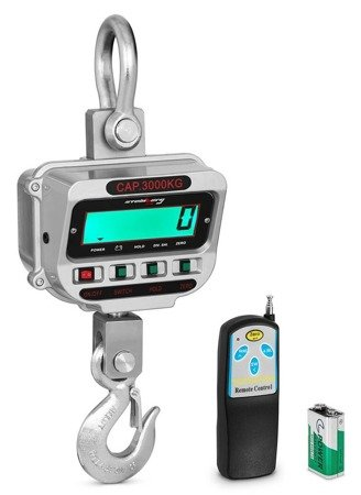DOSTAWA GRATIS! 45643487 Waga hakowa Steinberg Systems LCD (udźwig: 3T)