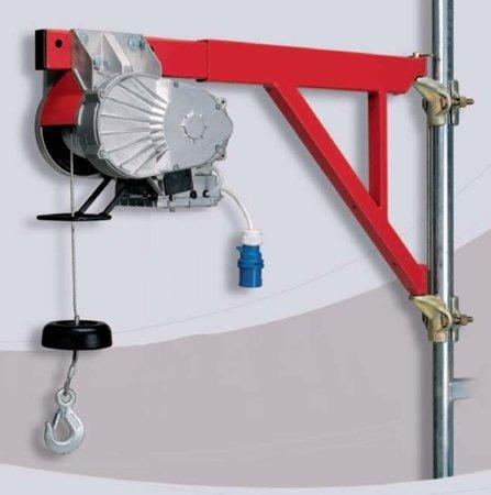DOSTAWA GRATIS! 55547196 Wciągarka budowlana linowa elektryczna (udźwig: 150 kg, długość liny: 40m)