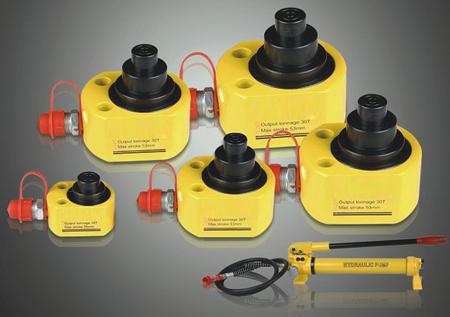 DOSTAWA GRATIS! 55872701 Uniwersalny cylinder hydrauliczny (udźwig: 100 T, skok: 68 mm)
