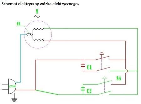 DOSTAWA GRATIS! 55951163 Wyciągarka linowa elektryczna Industrial 300/600 230V, hamulec automatyczny (udźwig: 300/600 kg) + wózek elektryczny 1T