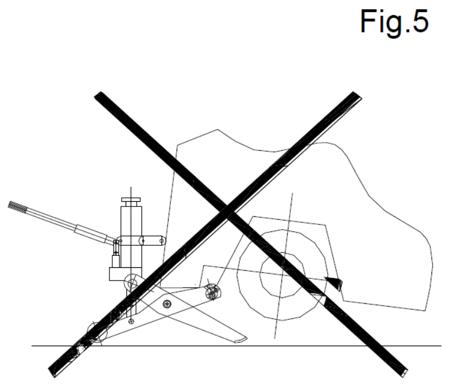 Podnośnik hydrauliczny wózków widłowych (udźwig: 4 T) 3109790