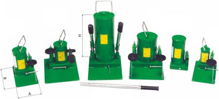 Pompa hydrauliczna ręczna (pojemność zbiornika: 4,0 dm3) 62725754