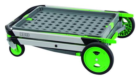 SWARK Wózek do transportu, składany + pudełko GermanTech (udźwig: 60 kg) 99746706