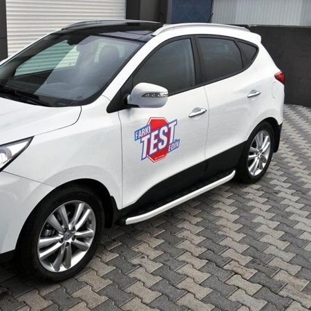 Stopnie boczne - Hyundai ix35 (długość: 171 cm) 01655695