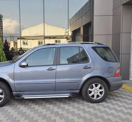 Stopnie boczne - Mercedes ML W163 1997-2005 (długość: 182 cm) 01656043