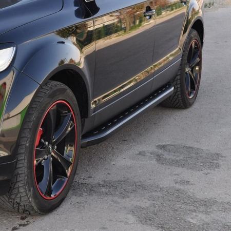 Stopnie boczne, czarne - Chevrolet Trax (długość: 161 cm) 01655889