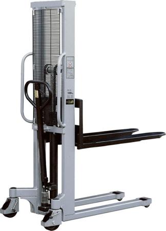 Wózek podnośnikowy ręczny (maszt pojedyńczy, udźwig: 1000 kg) 31046310