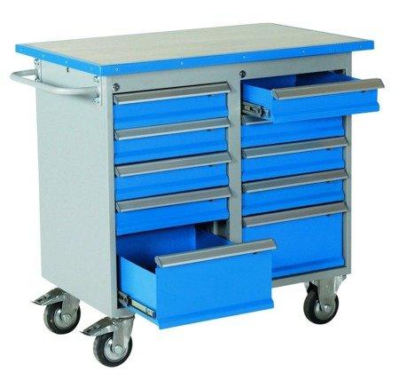 Wózek. szafka stalowa narzędziowa GermanTech (wymiary: 1025x600x900 mm) 99724946