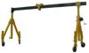 33925022 Suwnica bramowa składana miproCrane (szerokość: 1605/3855mm, wysokość: 2022/3322mm, udźwig: 1500 kg)